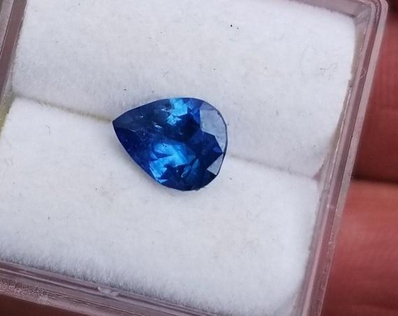 Ceylon Sapphire 7.6x5.9MM Tear Drop September Birthstone