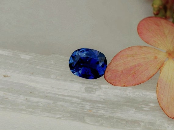 Blue Sapphire 0.97cts Precision Cut by Rogerio Graca