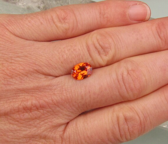 Orange Sapphire 2.05cts Oval