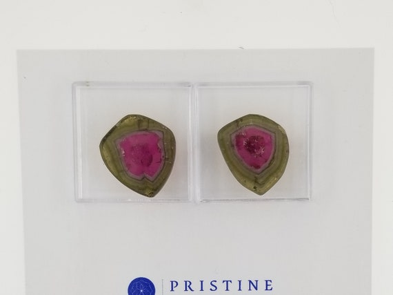 Unique Watermelon Tourmaline Slice 6.30cts