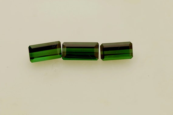 Natural Green Tourmaline Set 16.80cts tw
