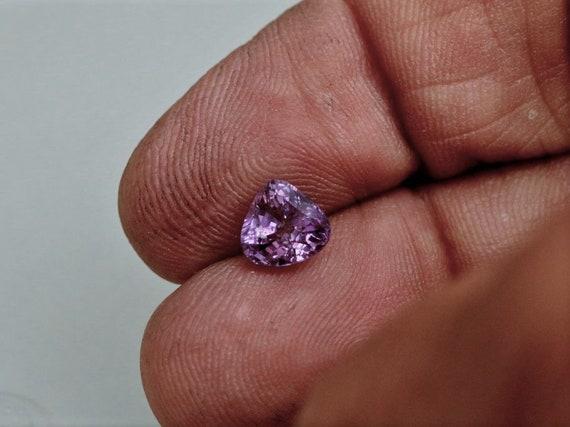Natural Violet Sapphire 1.77ct Fancy Shape