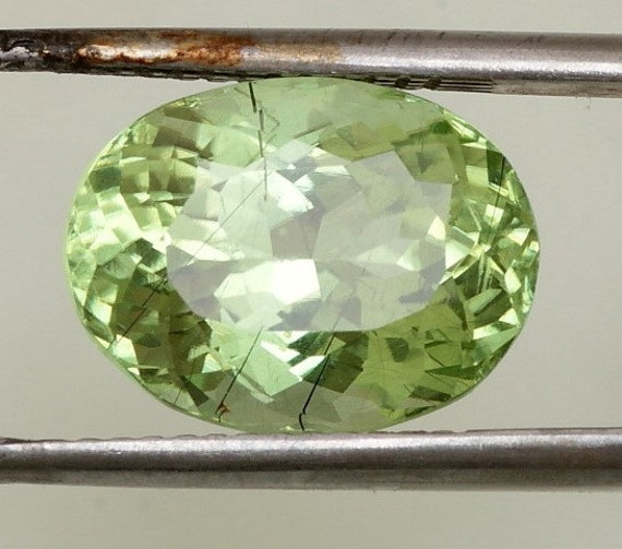 Peridot 5.92cts Oval August Birthstone