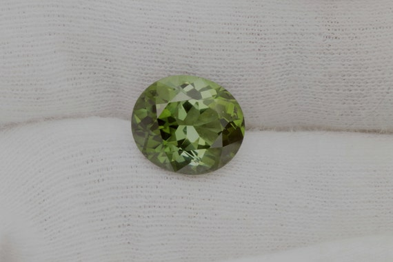 Natural Green Tourmaline 6.13cts Oval