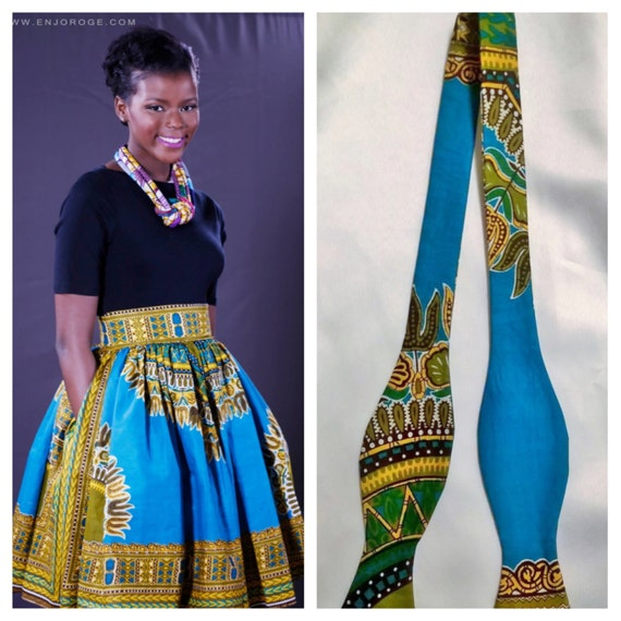Him Skirt; Yellow Skirt; African Outfit African Couple African African Ankara For Her For African Print; Dashiki clothing Blue Dashiki qZxXx1p