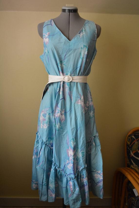 Hawaiian Creations Floral Dress sz. XL