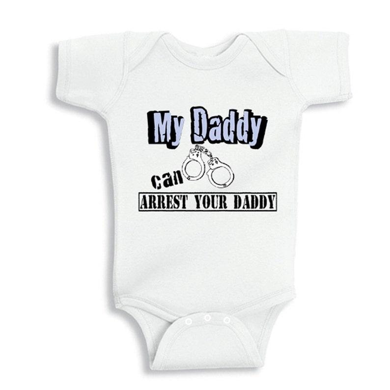 184307317 Mi papá puede detener su papá Body de bebé personalizada
