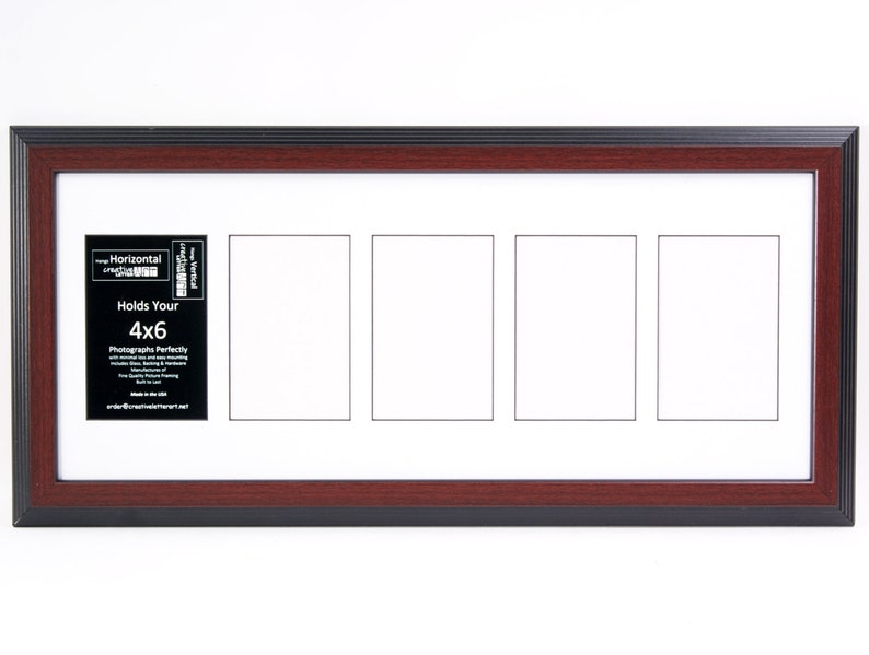 Multi Opening Photo Frame Collage 4x6 Vertical Multiple 2 3 4 5 6 Opening Driftwood Picture Frame with Mat