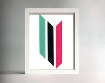 Untitled (Triple Stripe)
