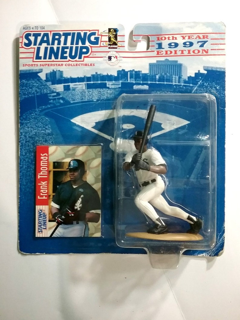Frank Thomas Chicago White Sox  1997 Starting Lineup In Package