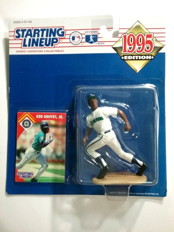 online retailer 32a55 4e6c9 Ken Griffey Jr Seattle Mariners 1995 Starting Lineup In Package