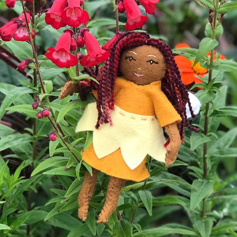 /'Summer/' Heidi Boyd Doll Pattern Felt Doll Kit DIY Sewing Beginner Sewing Kit Fairy Sewing Kit Felt Fairy Kit