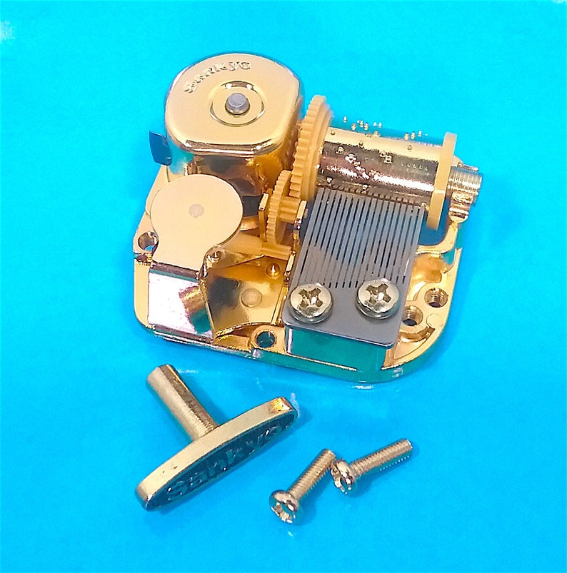 18 Note Sankyo Musical Gift or Craft Many New Songs Music Box Movement
