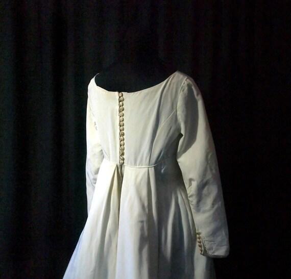 Vintage Sophisticate Wedding Dress, S, petite, 19… - image 4