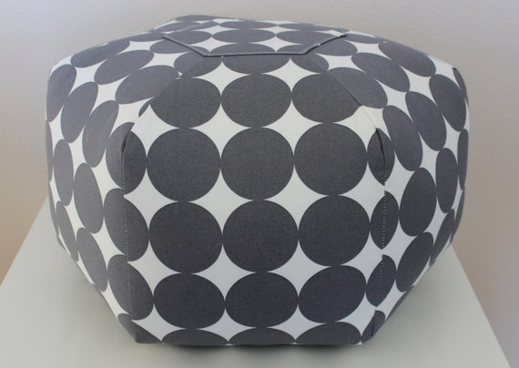Items Similar To 40 Pouf Ottoman Floor Pillow Dwell Studio Dotscape Magnificent Dwell Pouf