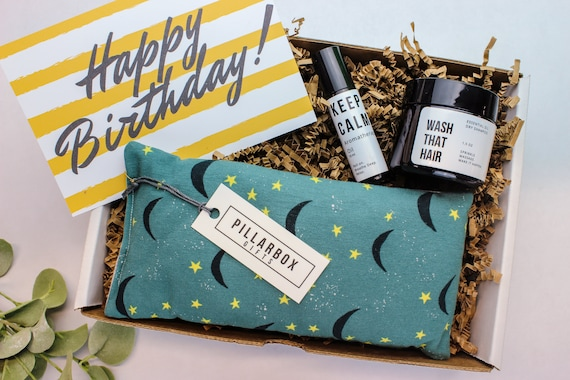 Happy Birthday Care Package Custom Gift Box For