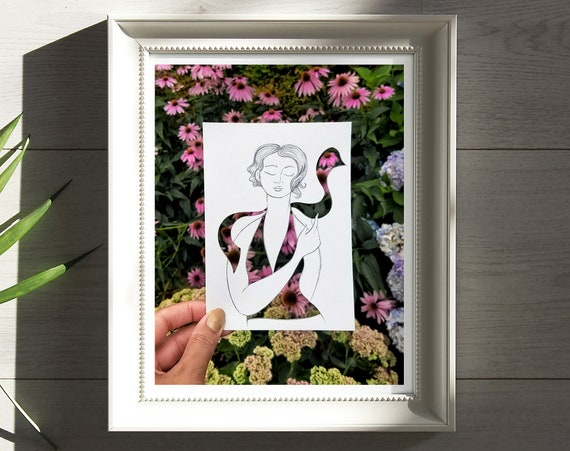 Fashion 8 x 10in. Art Print (In Full Bloom)