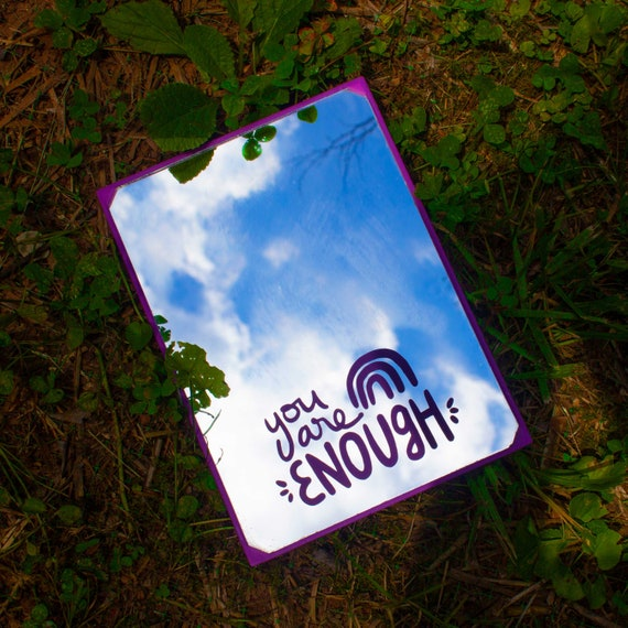 YOU ARE ENOUGH Removable Vinyl Decal