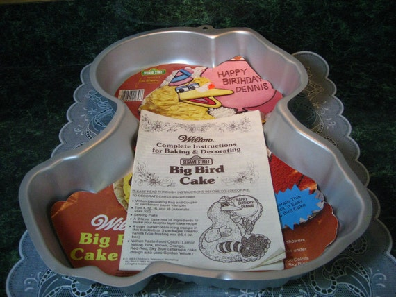 Vintage Wilton Big Bird Cake Pan Wilton Cake Pan Big Etsy