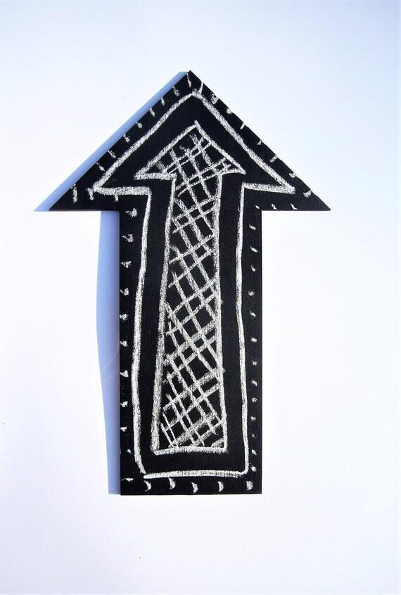 Pfeil Tafel Magnet Tafel Magnete kleine Tafel-Zeichen | Etsy