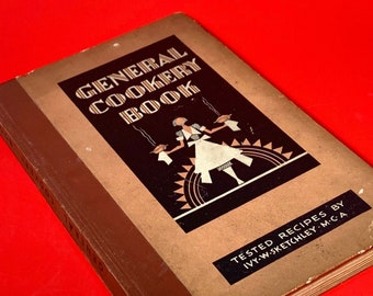 Vintage 20s General Cookery Book