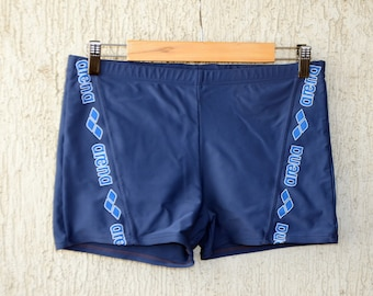 Vendita Costumi Da Bagno Vintage : Costume da uomo blu royal sundek vintage arcobaleno laterale short