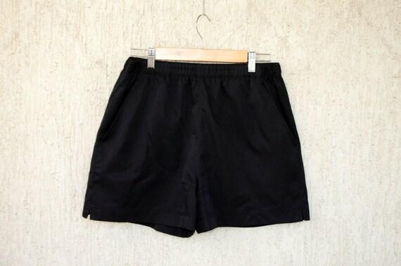 Black Shorts FILA size M L Men Sportswear Vintage