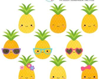 Pineapple Clipart Etsy