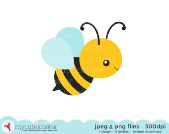 25+ Clip Art Printable Free Honey Bee Images Images