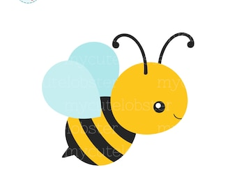 bee clipart etsy rh etsy com bumble bee clipart for teachers bumblebee clipart