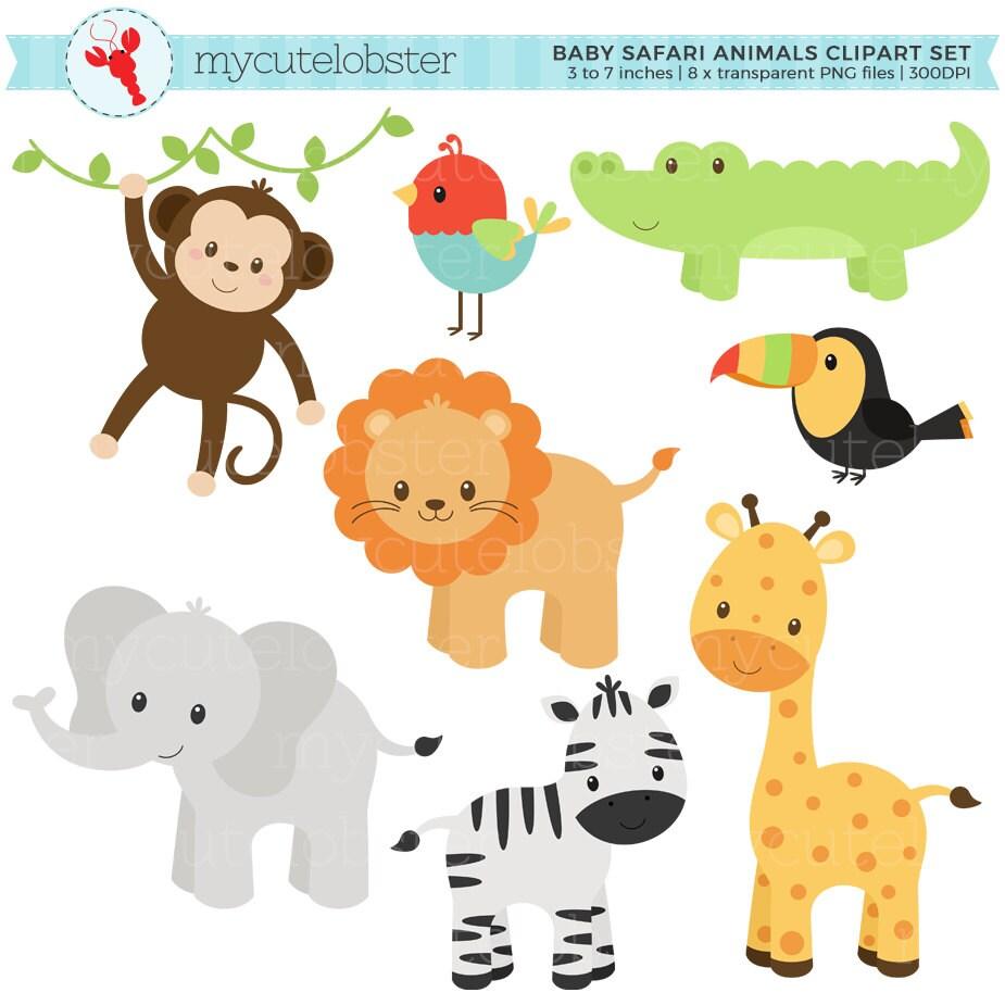 It is an image of Universal Free Printable Baby Safari Animals