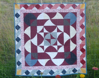 Tutorial How to Make a Medallion Quilt pdf instant download