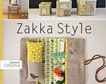 Zakka Style Sewing, Quilt, and Craft Book ~ Gently Used~ FREE SHIPPING