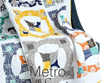Metro Scope Quick Curve Quilt Pattern Paper FREE SHIPPING