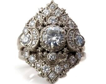 Engagement Ring Set Etsy