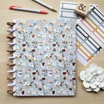 ROSE GOLD FOIL Happy Planner Cover | Disc Bound Planners | Happy Notes Notebook & More |  Rose Gold Floral