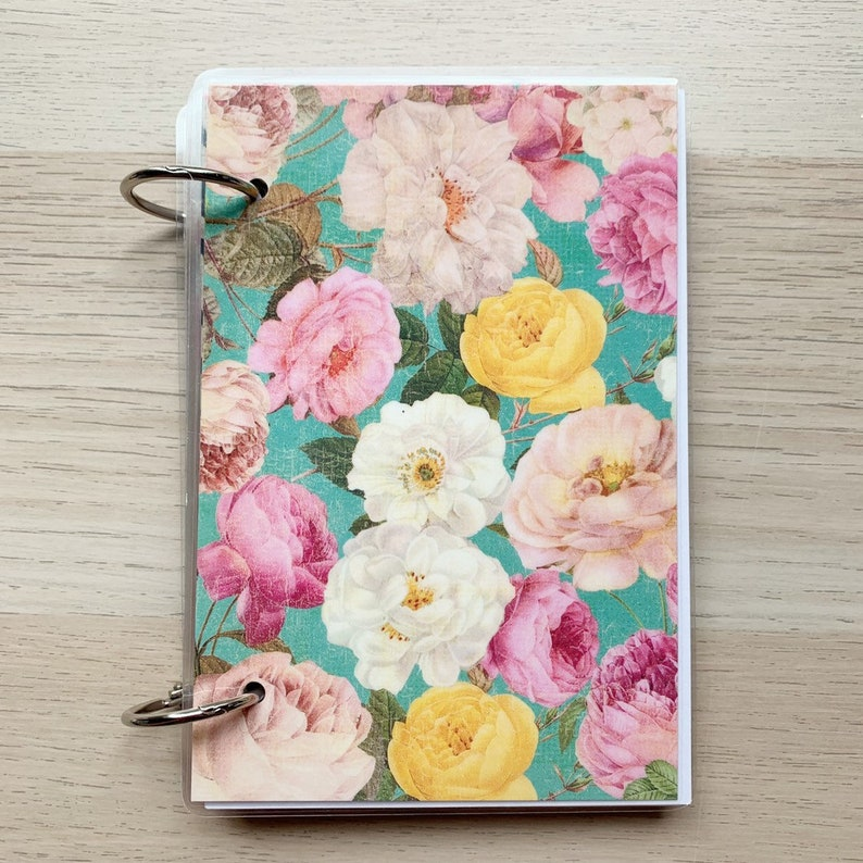 4x6 Journal  Notebook  Index Card Binder  Smashbook with image 0