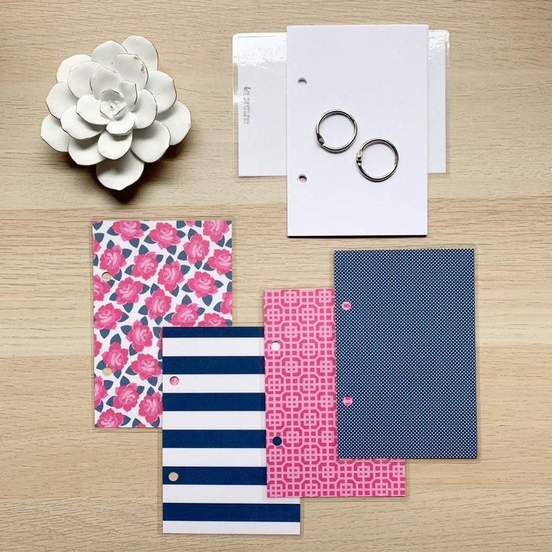 4x6 Journal  Notebook  Index Card Binder  Smashbook with image 0