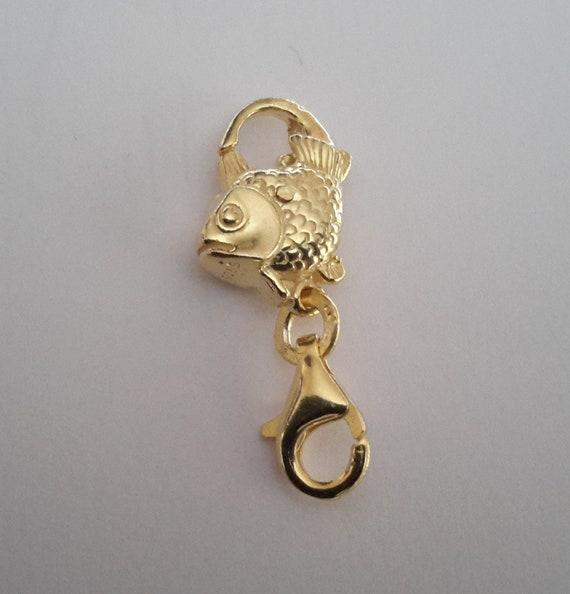 14ct or jaune rempli de homard mousqueton fabrication de bijoux fermoir catch 12mm