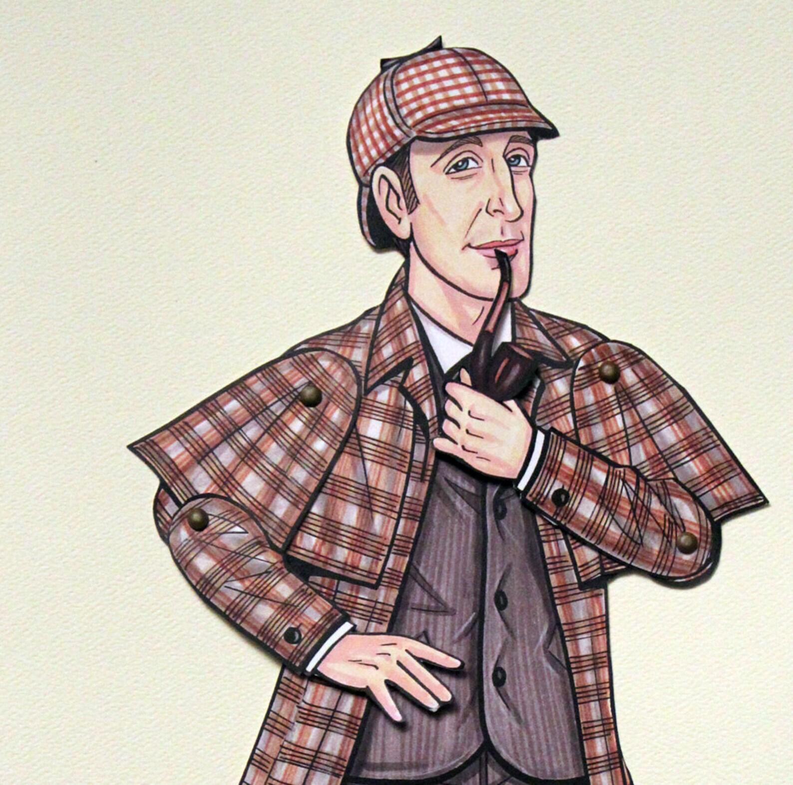 Шерлок холмс картинки для детей