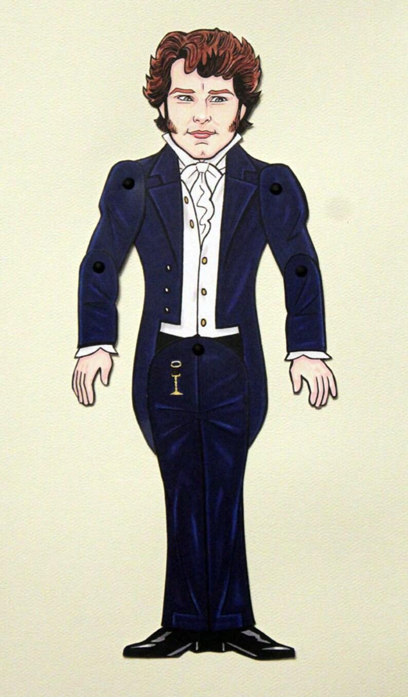 Mr Darcy Colin Firth Stolz Und Vorurteil Paper Doll Etsy