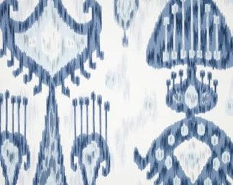 BLUE IKAT Curtains Colors Designer Window Panels