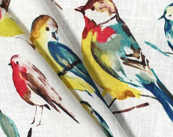 BEAUTIFUL BIRD CURTAINS Designer Window Panels