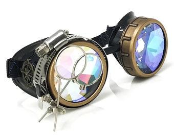 Steampunk goggles | Etsy