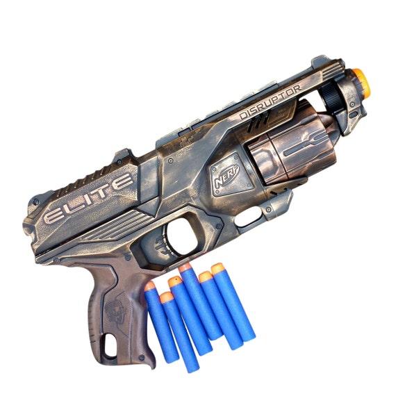 Nerf Dart Jouet Elite Perturbateur DouxEtsy Steampunk Pistolet rxWQBoEdCe