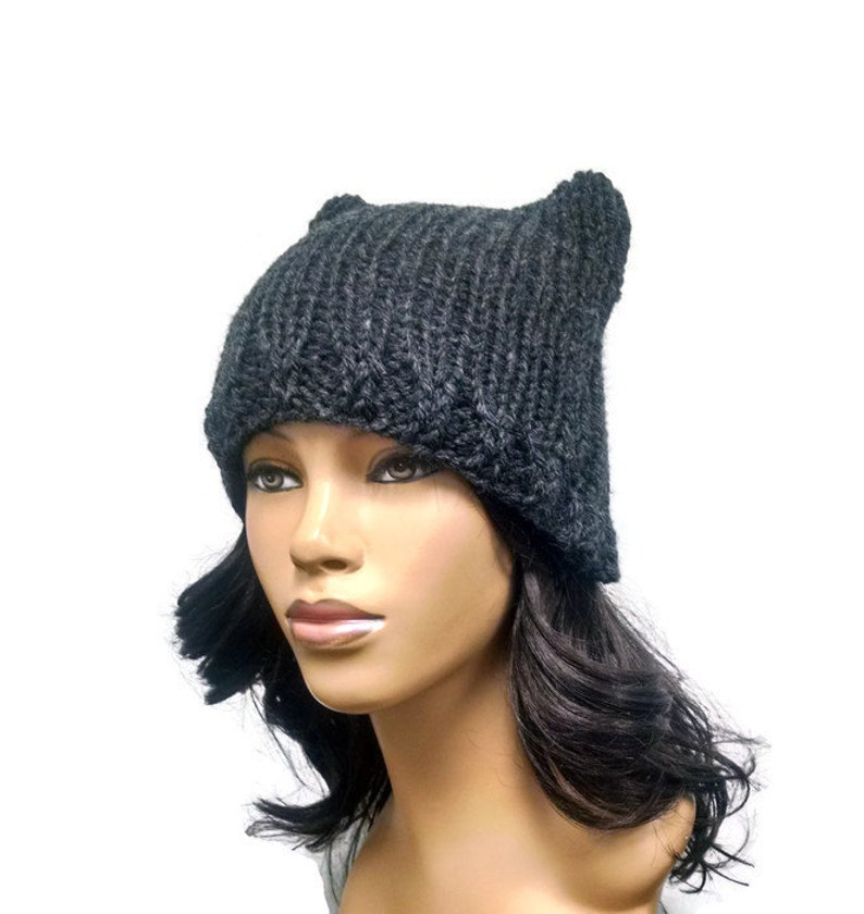 Instant Download Loom Knitting Pattern/ Easy cat hat/ cat ...