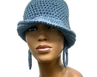 PATTERN ONLY Easy Crochet Cloche/Flapper Instant Download Pdf Free crochet earring pattern included