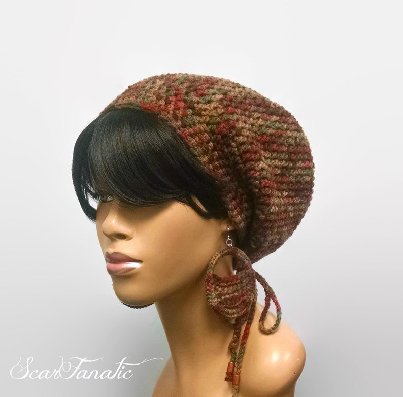 e0cefcbb758 Easy Crochet Slouch Hat Pattern with optional
