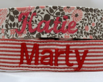 Embroidery Add-on Option - Personalize Your Dog Collar
