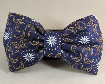 Dog Flower, Dog Bow Tie, Cat Flower, Cat Bow Tie - Celestial